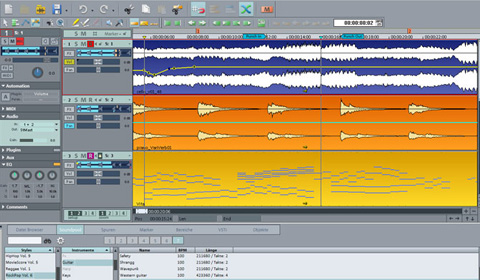 myoon: Samplitude Music Studio 15 von Magix