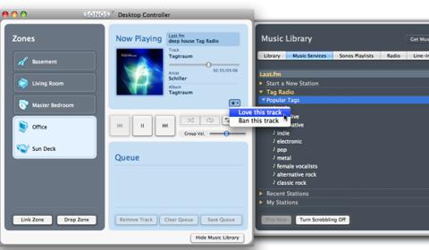 myoon: Sonos 2.7 mit last.fm und Software für iPhone und iPod touch
